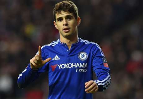 Hiddink not drawn on Oscar transfer