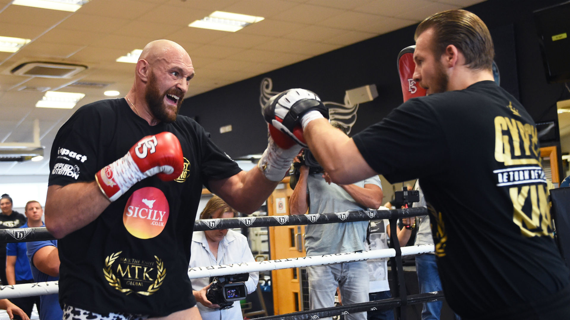 Tyson Fury and Deontay Wilder confrontation expected in Belfast