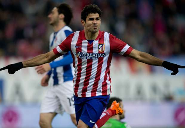Chelsea interest in Costa is no surprise - Simeone