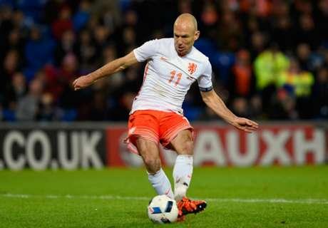 Robben pondered Oranje retirement