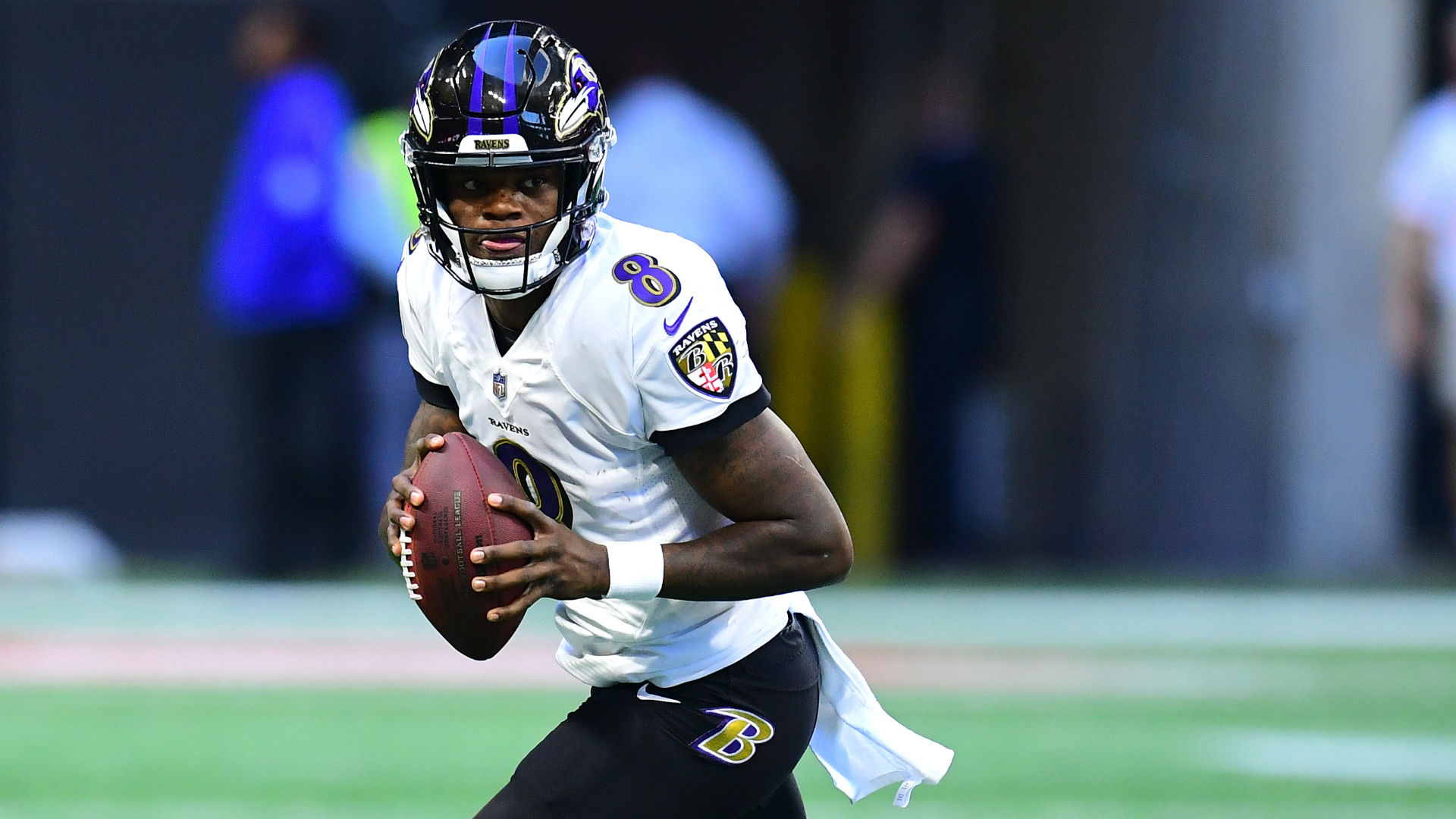 Lamar Jackson had no clue Ravens were rolling out new offense