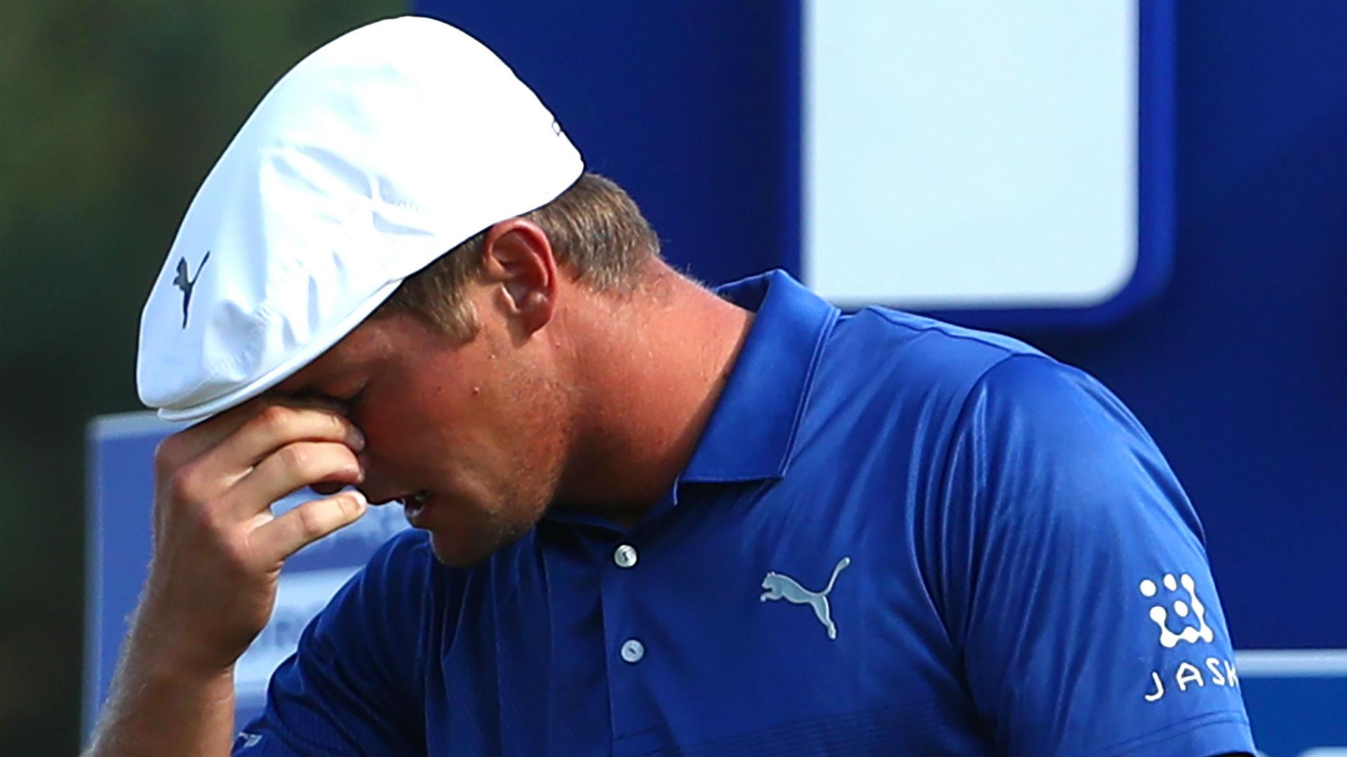 Byson DeChambeau apologises to Richard McEvoy after German Open behaviour