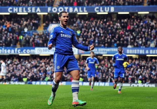 Erfolgreichster Torjäger der Blues - Eden Hazard