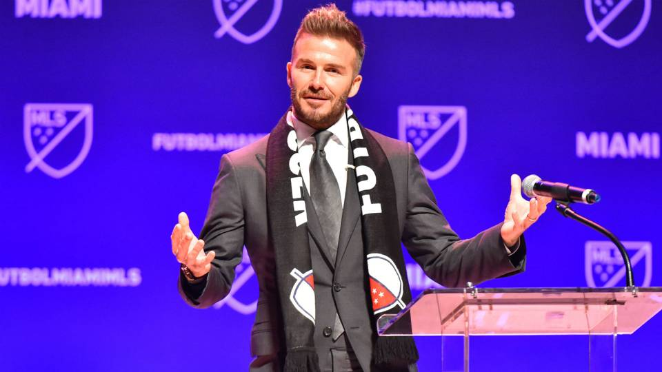 David Beckham's 'proud day' as Inter Miami is born