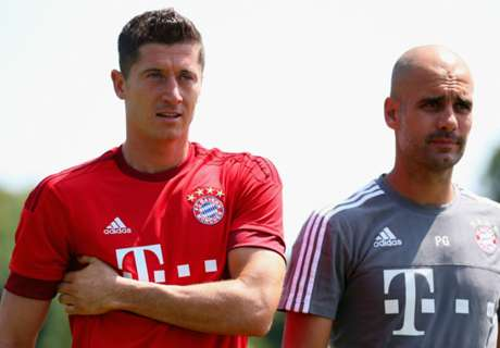 Pep hails Lewy professionalism