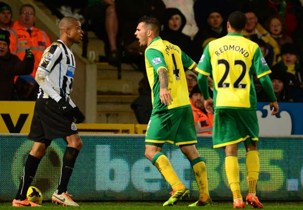 Newcastle and Norwich charged after brawl