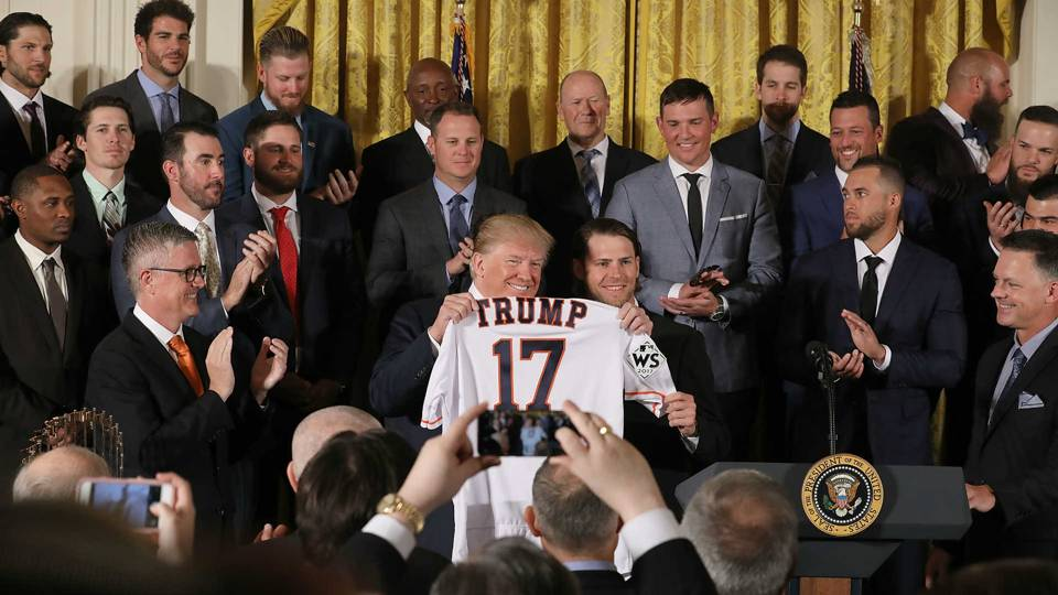 Astros at the White House