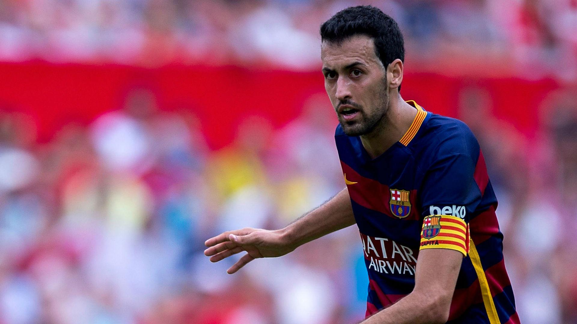 Football   Xavi: Sergio Busquets a leader for Barcelona ...