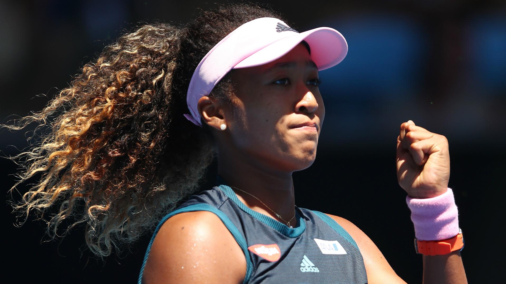 US Open champion Naomi Osaka at the Australian Open