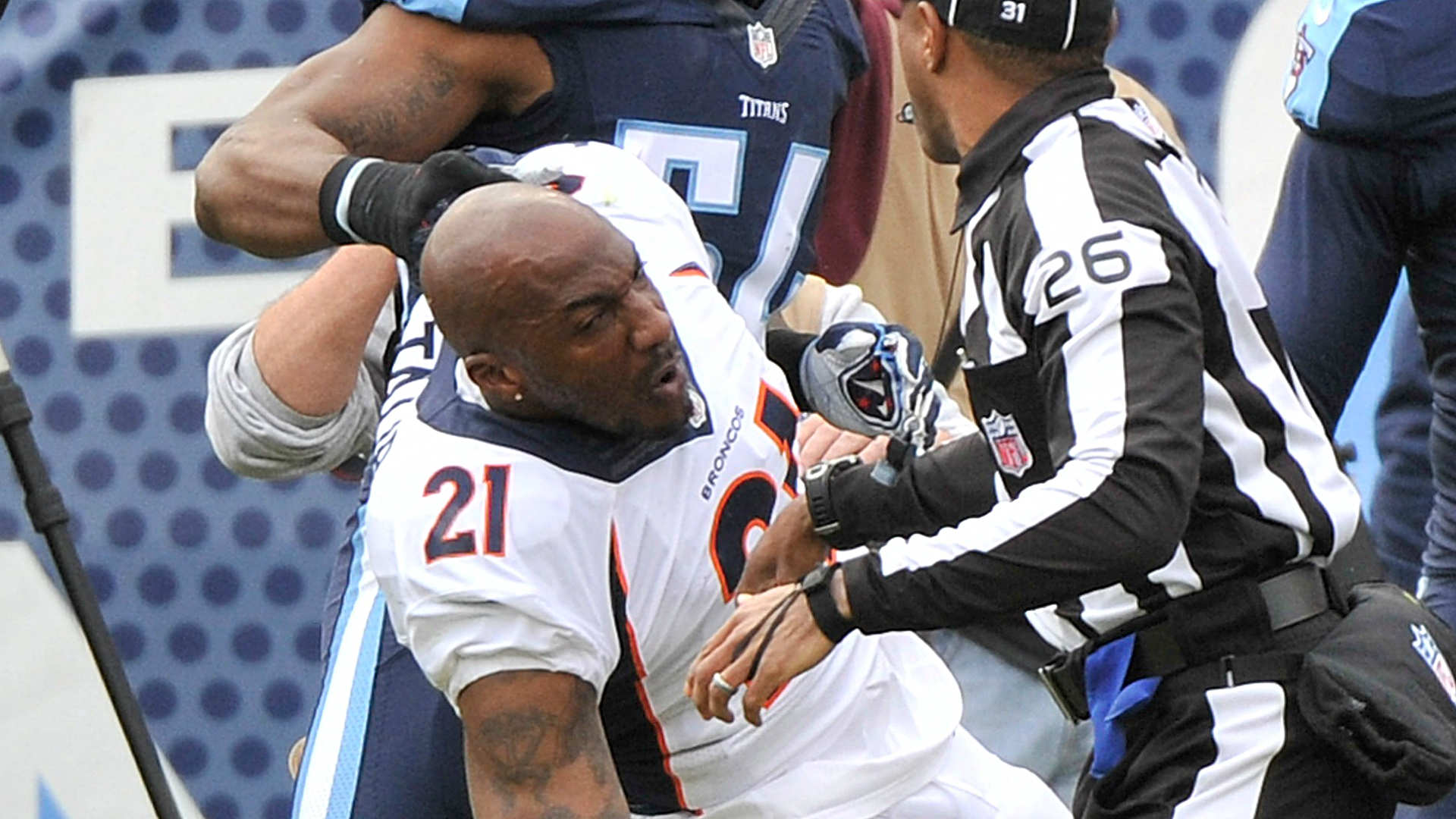 Aqib Talib vows to fight Harry Douglas as payback for dirty play