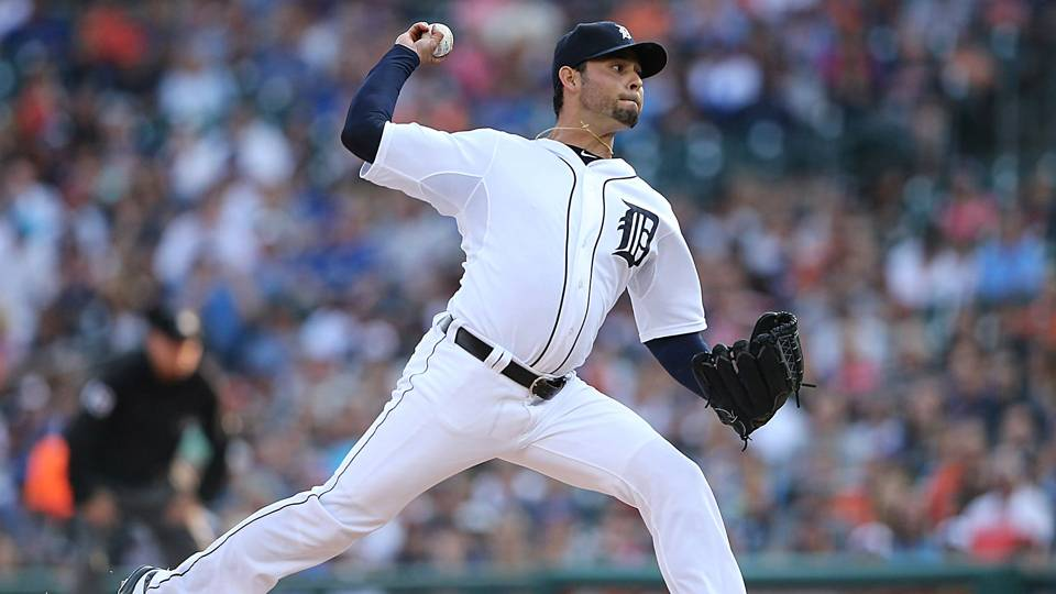 Tigers pitcher Anibal Sanchez