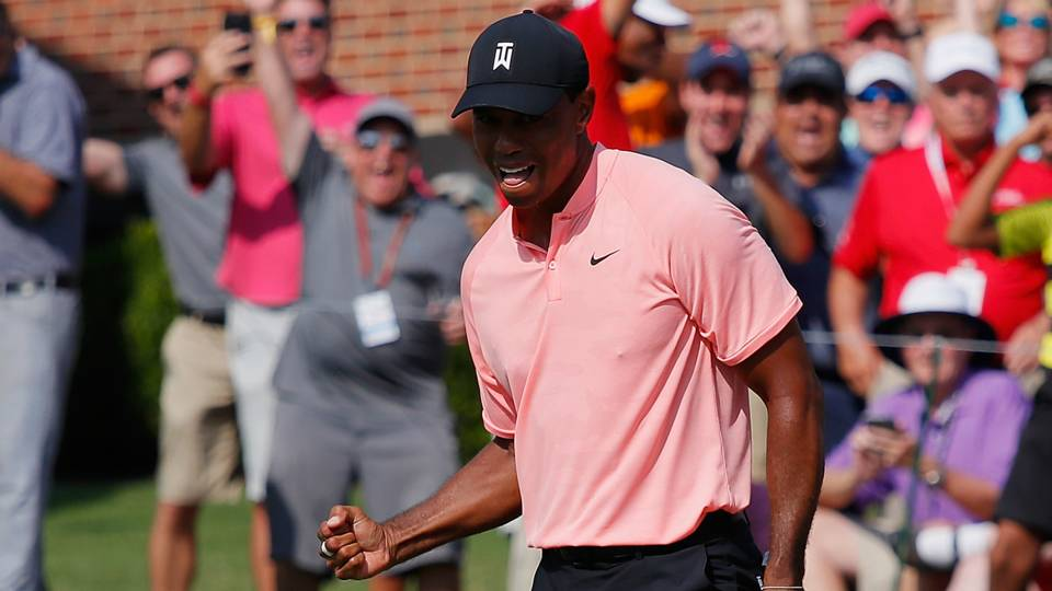 Tour Championship: Tiger Woods says a win would enhance an already special year