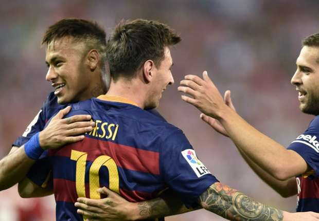Everything is better with Messi - Neymar