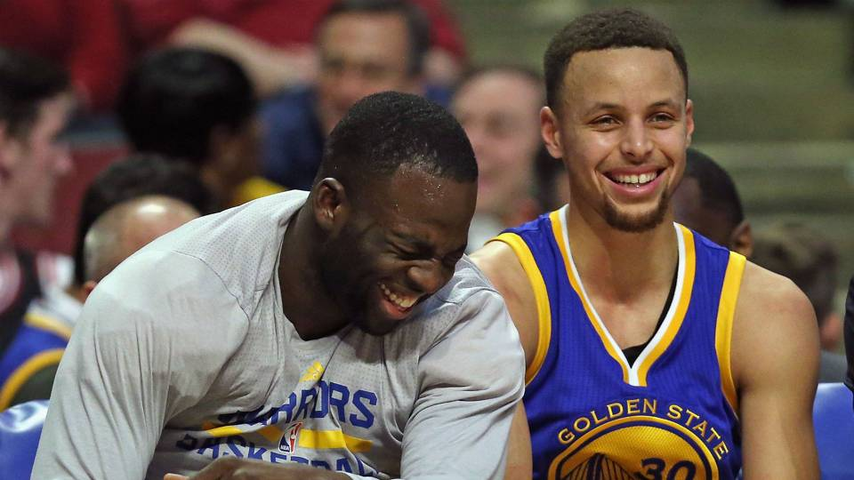 Draymond Green Stephen Curry - cropped