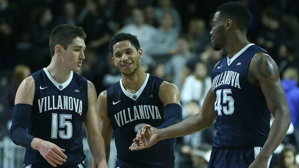 Ryan Arcidiacono, Josh Hart and Darryl Reynolds