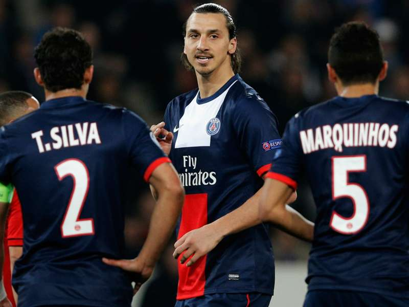 Paris Saint-Germain news: Thiago Silva on Champions League and Zlatan Ibrahimovic