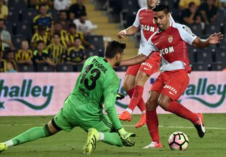 Falcao scores in Monaco return