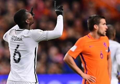 Criticized Pogba remaining focused