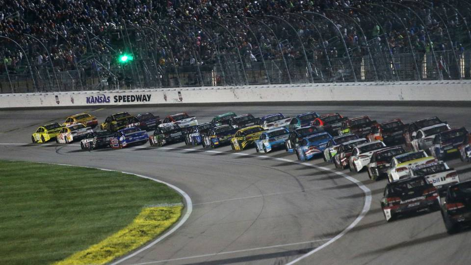 Nascar At Kansas Tv Schedule Dates Times Qualifying