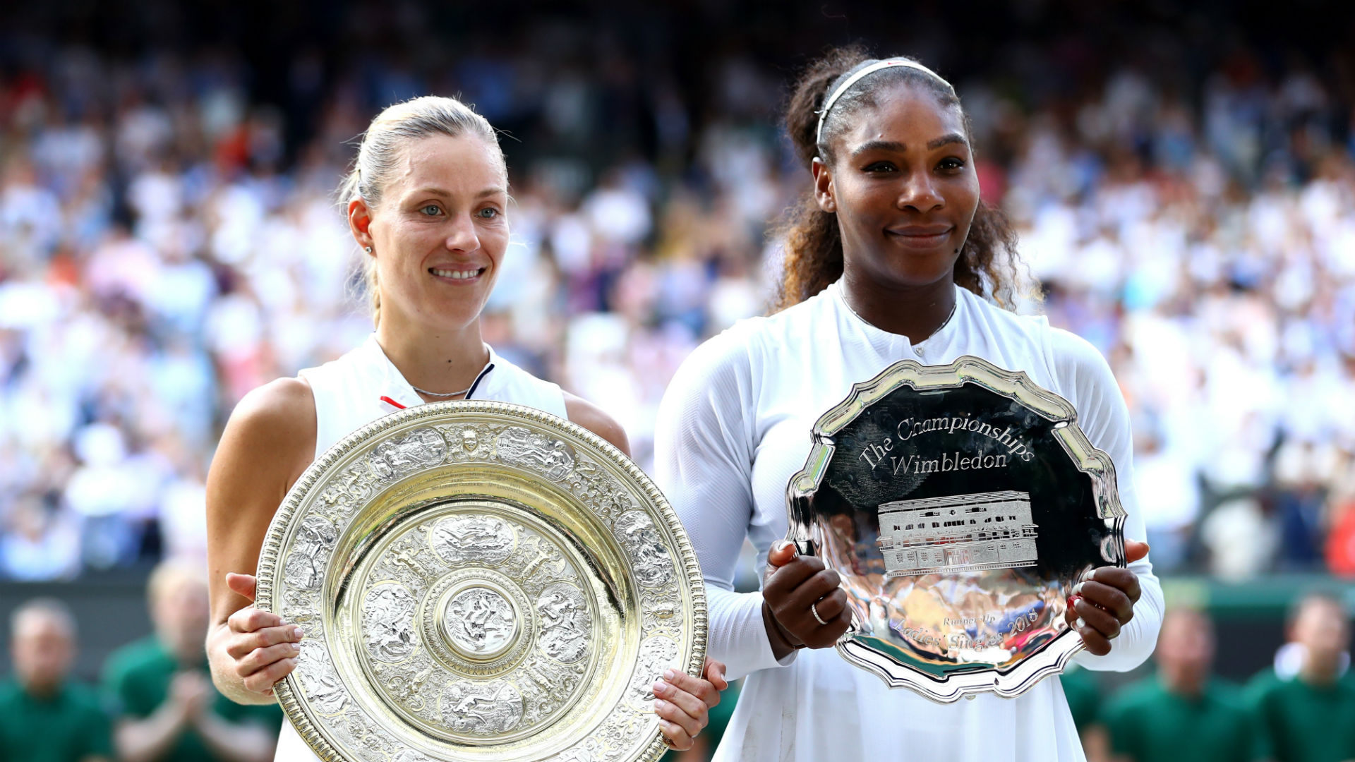 Kerber beats Williams to claim maiden Wimbledon title