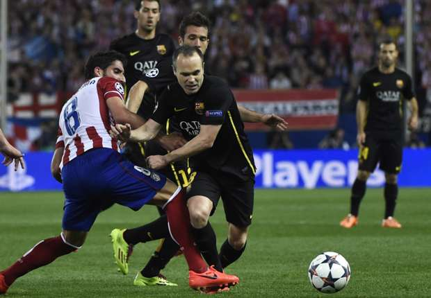 Barcelona deserved to lose, concedes Iniesta