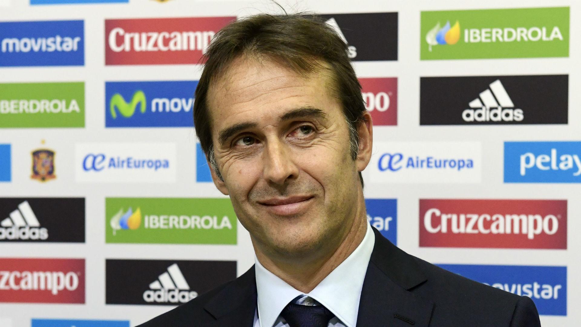Spain announces Lopetegui as Del Bosque's replacement