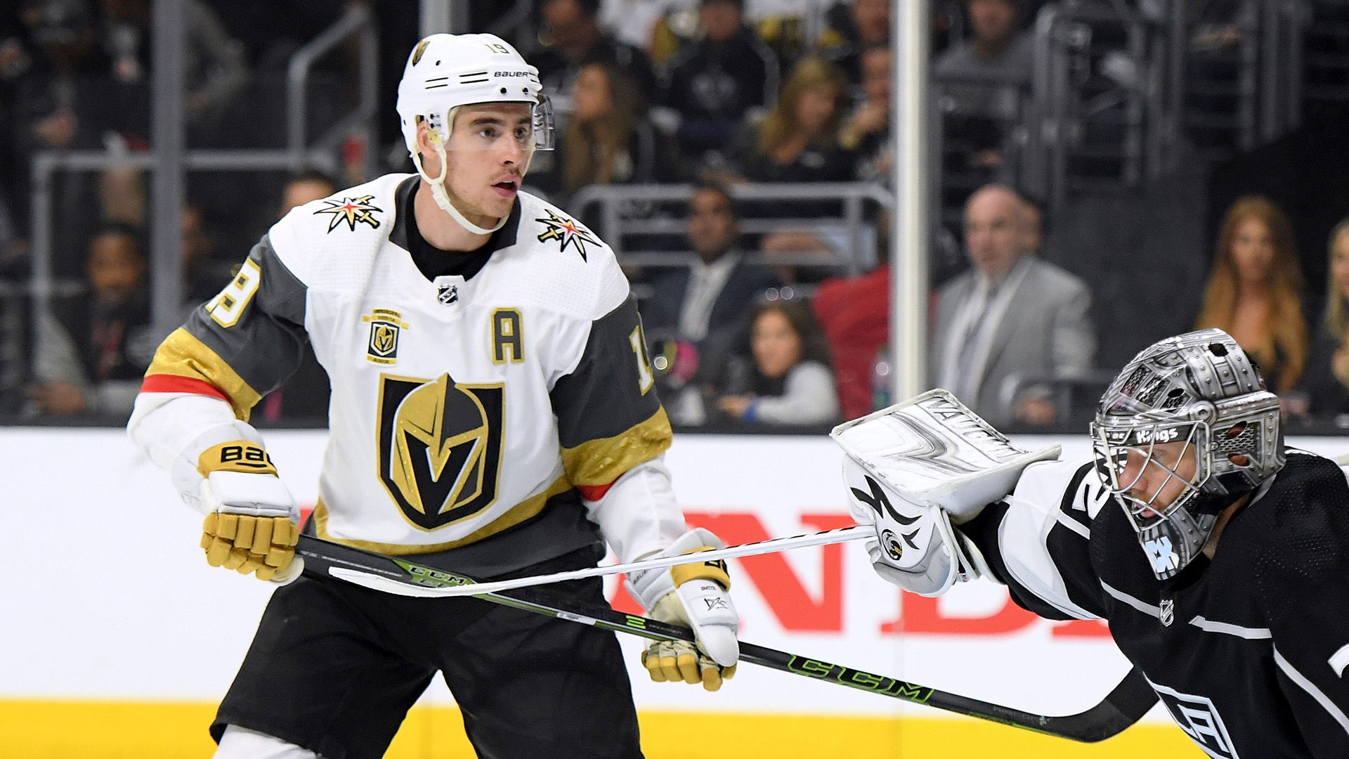 Las Vegas shooting survivors name baby after Golden Knights' Reilly Smith