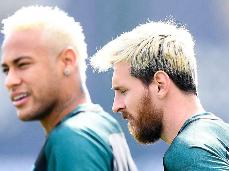 Blondshell Neymar Casts Doubt On Messis Latest Look