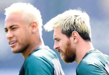 Neymar: Messi could look better!