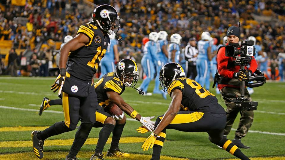 Three takeaways from steelers win over titans nfl sporting news steelers celebrate 111617 usnews getty ftr m4hsunfo