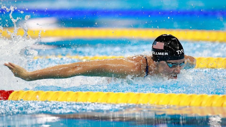 American swimmer Dana Vollmer