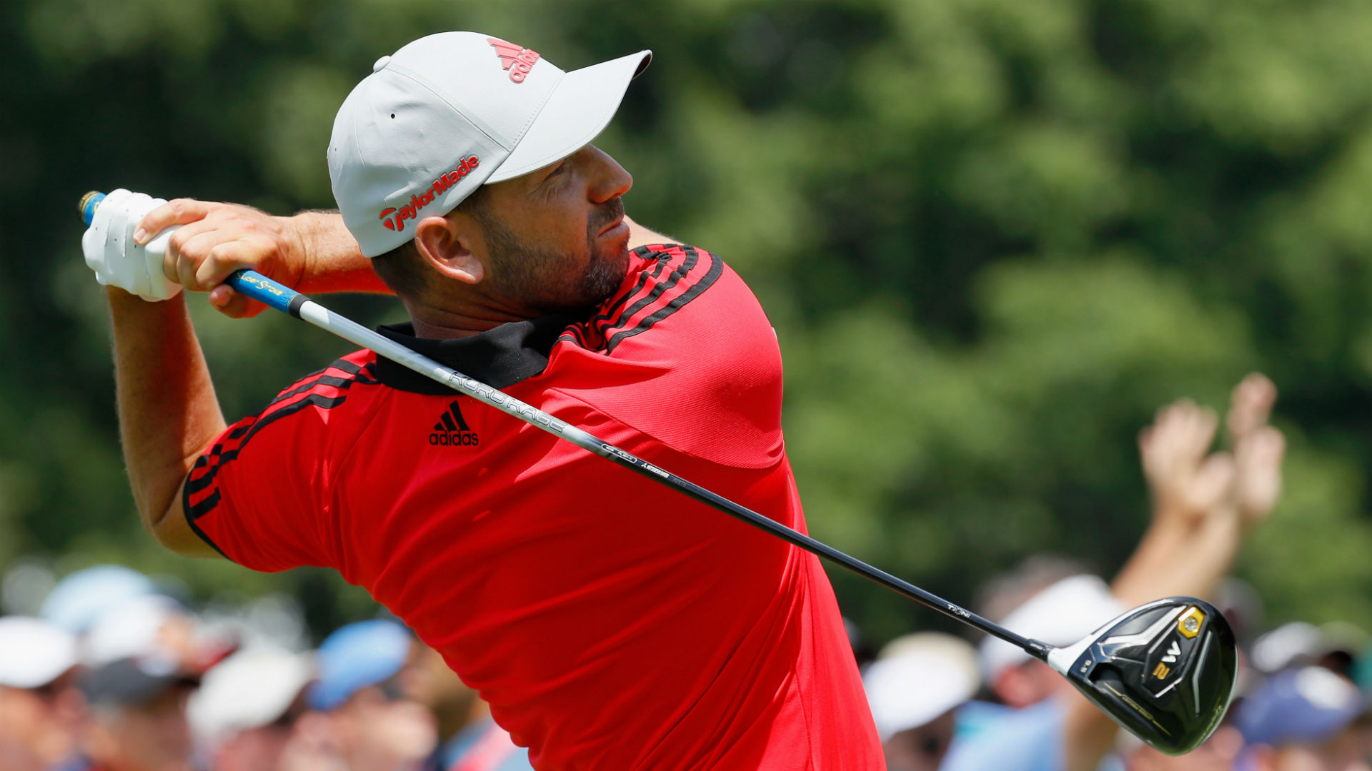 Two eagles boost McGirt to early lead at Players Championship