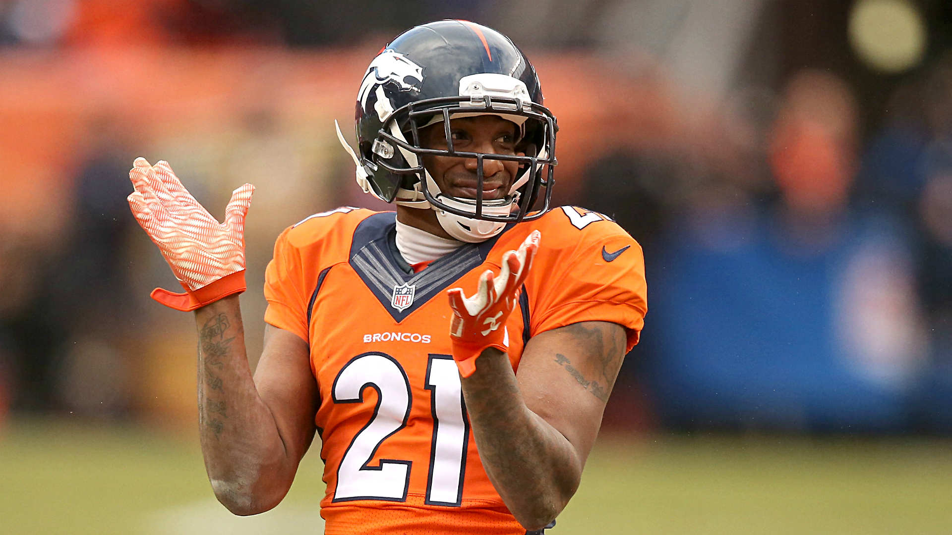 Crabtree not pleased that Talib snatched chain from his neck