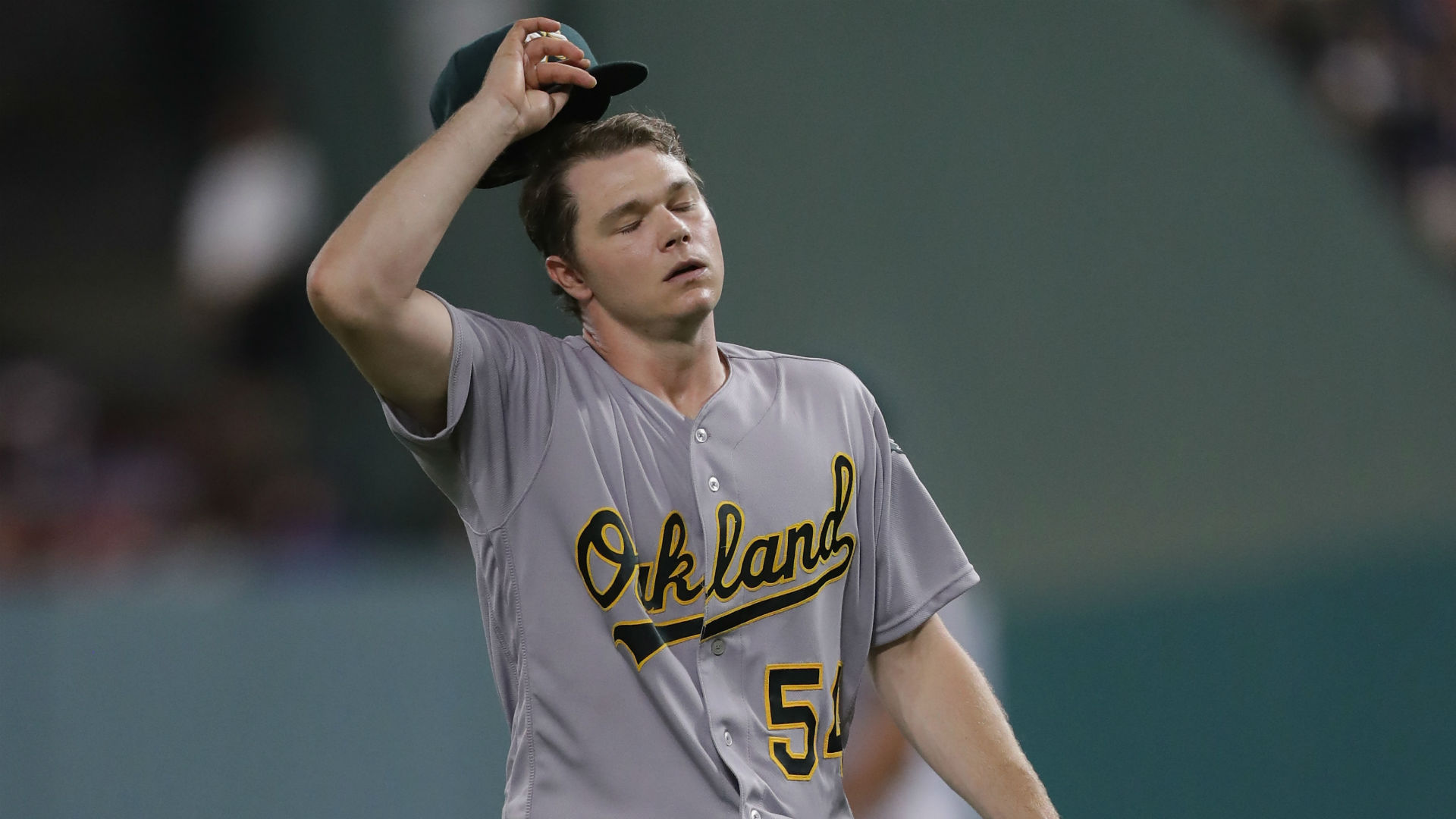 Oakland's Sonny Gray to miss Opening Day start with lat strain