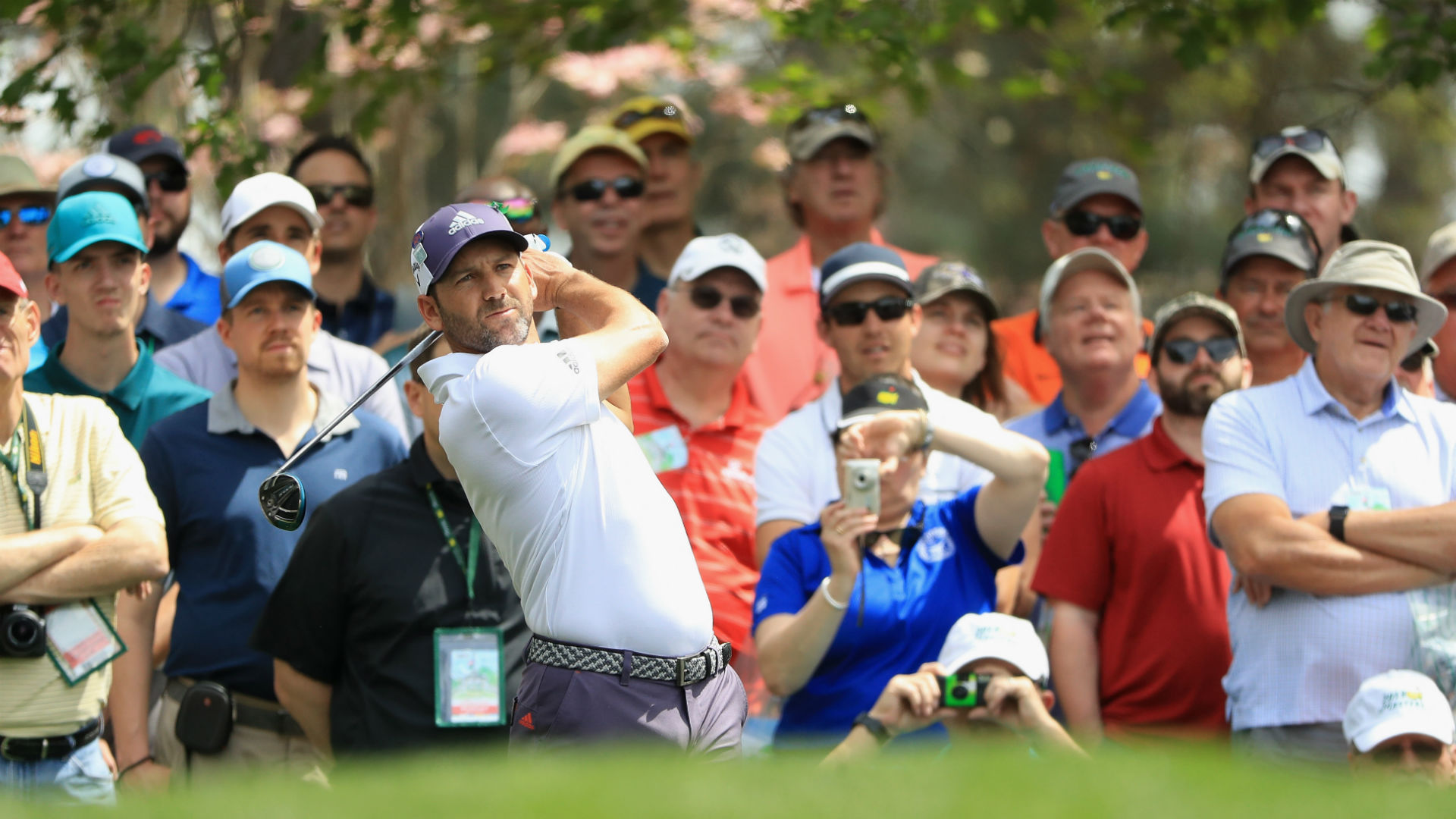 Sergio Garcia ties highest score ever after horror 13