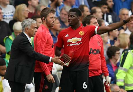 VIDEO: Pogba & Mou clash in Man Utd training