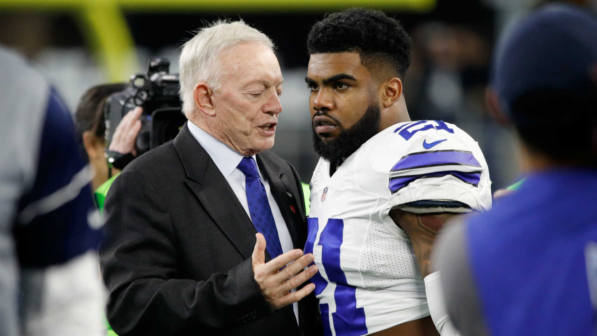 Jerry Jones emotionally defends how the Cowboys handled Whitehead situation