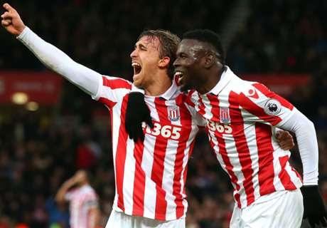 Scorers delight Stoke boss Hughes