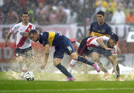 River & Boca share Superclasico spoils