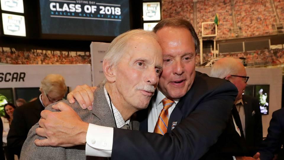 Robert Yates (left) and Winston Kelley