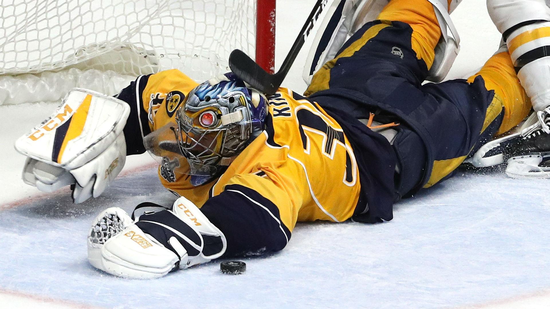 Stanley Cup Final three stars: Behind resurgent Pekka Rinne's acrobatic saves, Predators even ...