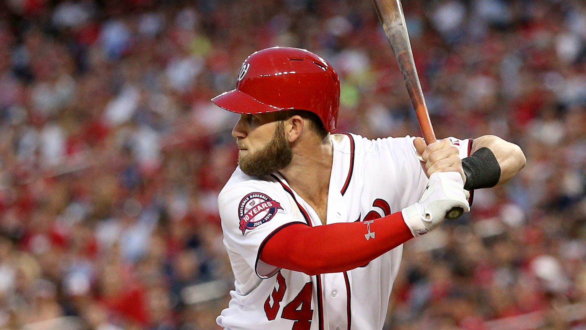 ​Bryce Harper won't participate in the HR Derby