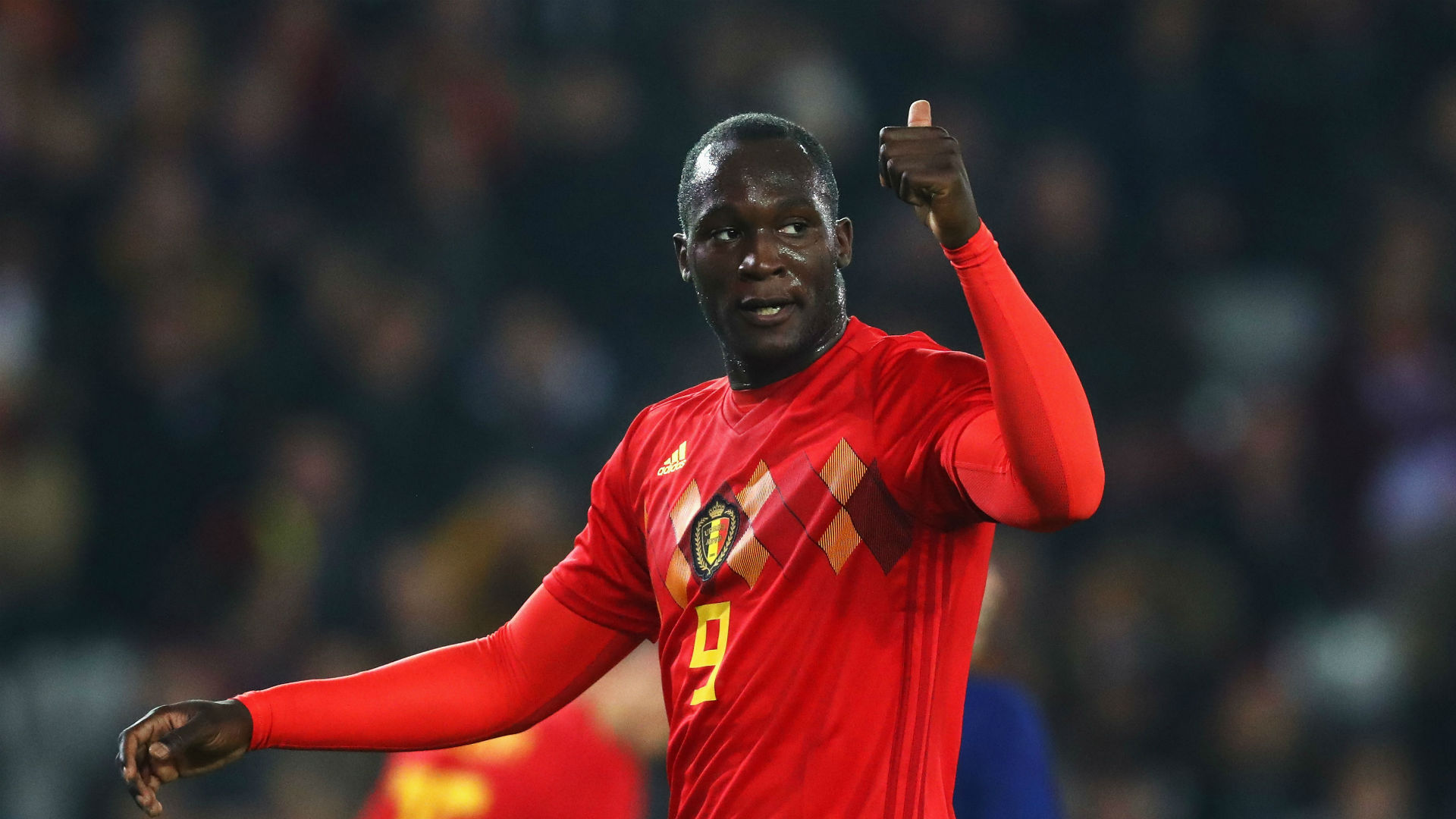 Man Utd striker Romelu Lukaku makes history on worldwide  duty for Belgium