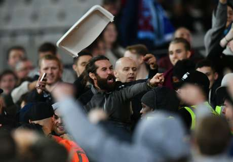 West Ham game marred by crowd trouble