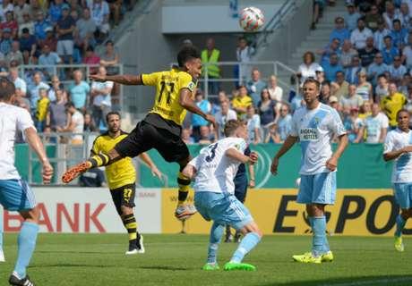 Chemnitzer 0-2 Dortmund: BVB win