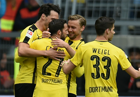 BVB 2-2 Cologne: Unbeaten at home