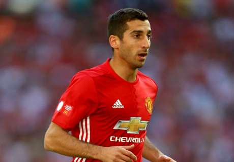 Mkhitaryan dealing with thigh injury