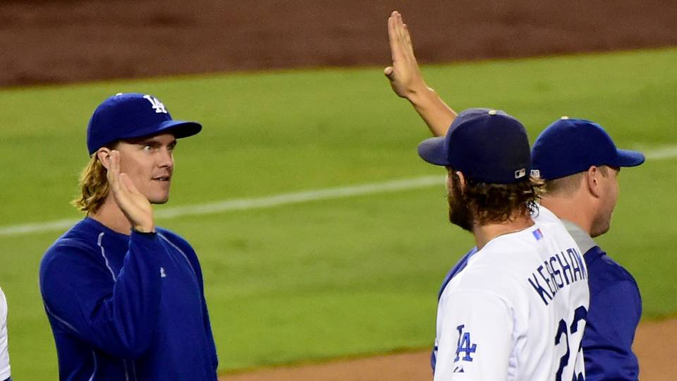 Zack Greinke and Clayton Kershaw.