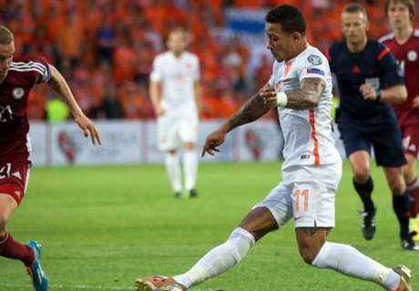 Latvia 0-2 Netherlands: Pressure eased