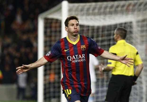 Lionel Messi was weer de drijvende kracht bij Barcelona
